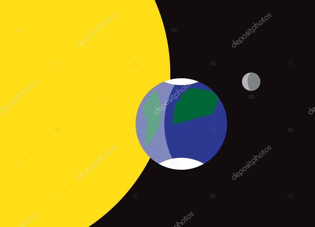 Pianeta Terra Bandiera Simbolo Vettoriali Stock Davidscar 65938747
