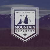 horská průzkum znak