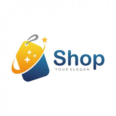 Shop Logo. Good Shop Logo design vector template icon