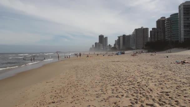 plážové hotely v gold coast, pobřežní město, queensland, Austrálie