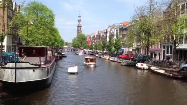turistika v kanály v Amsterdamu, Nizozemsko