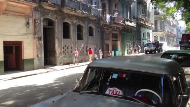Bike taxi driving through Havana, Cuba
