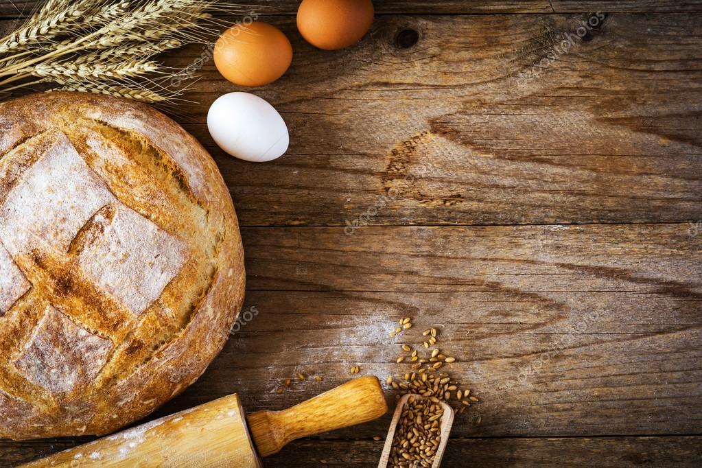 Food Background Cooking Ingredients Baking Ingredients