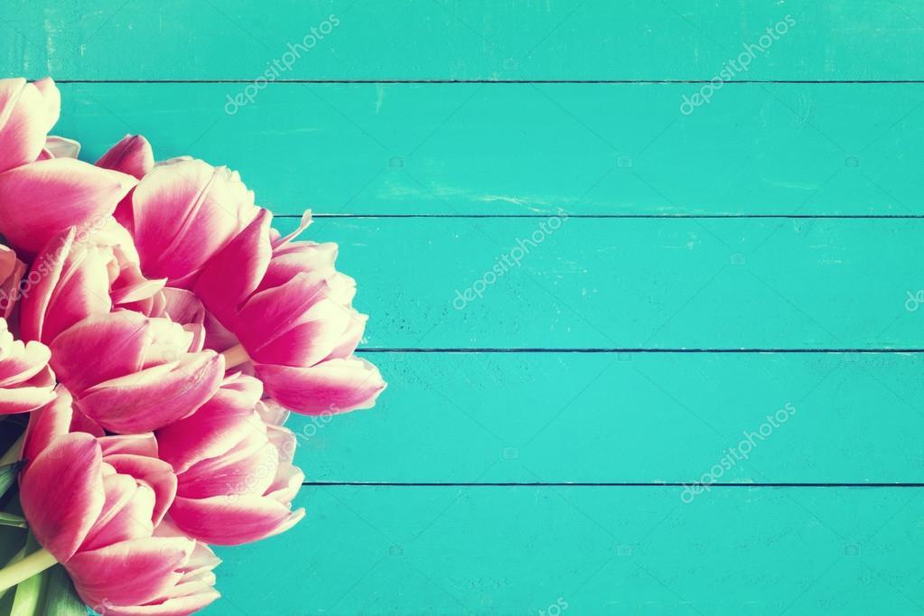 Фон с цветами для открытки