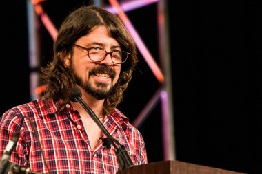 Dave Grohl performing at SXSW music festival