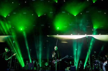 Sigur Ros performing on stage during Best Kept Secret music festival