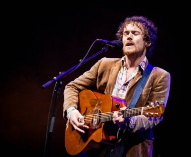 Damien Rice performing on stage during Best Kept Secret music festival