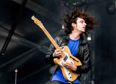 Maccabees performing on stage during Best Kept Secret music festival