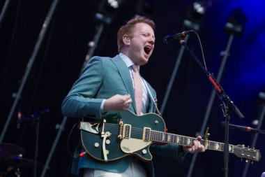 Two Door Cinema Club performing on stage during Best Kept Secret music festival