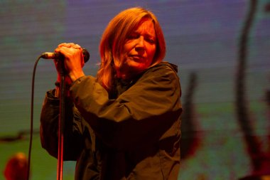 Portishead performing at Best Kept Secret music festival