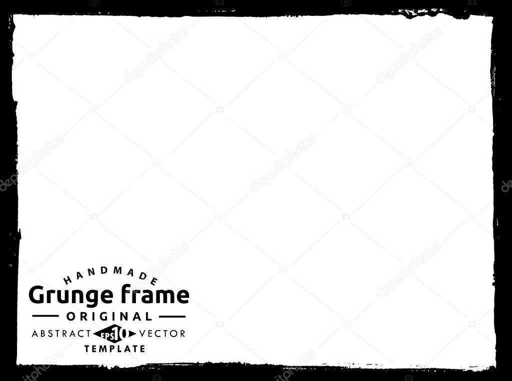 texturas Grunge marco — Archivo Imágenes Vectoriales © milmar #120686968