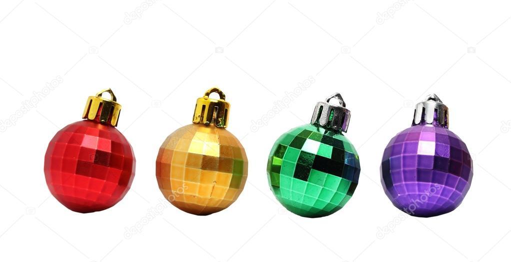 086dcea8a9cf2 cuatro bolitas para el árbol de Navidad — Foto de stock © OutSaider ...