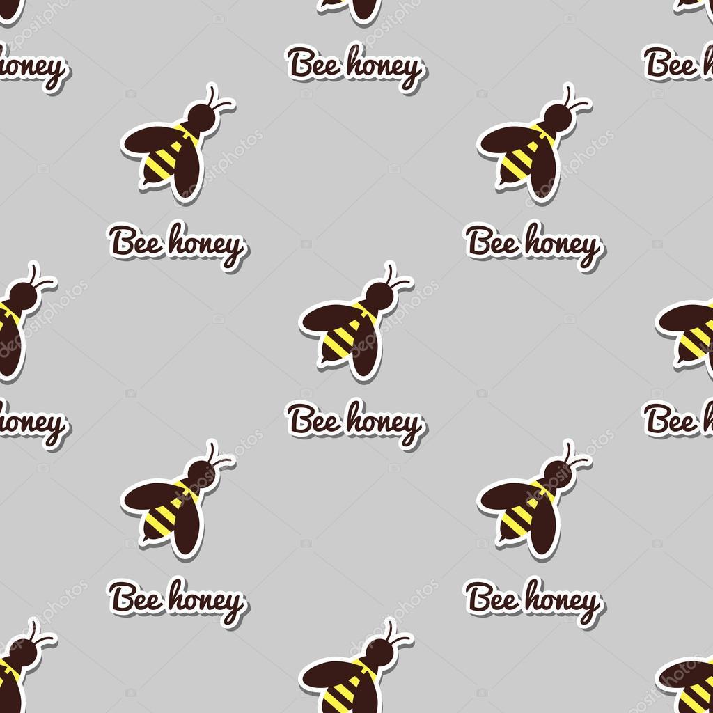 Fotos: abejas grandes | Abejas grandes de patrones sin fisuras ...