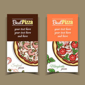 Photo Banners Seafood Margherita Pizza