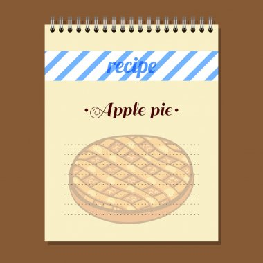 Recipe Book Apple Pie
