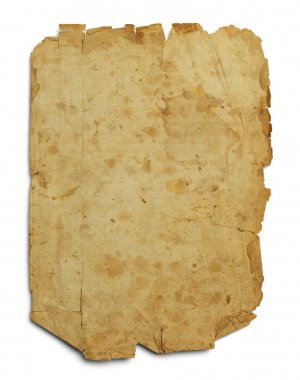 Old Worn Blank Page