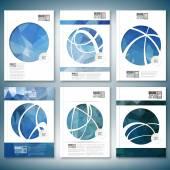 Barevné pozadí abstraktní, trojúhelník designu. Brožury, letáku nebo zpráva pro podnikání, šablona vektor
