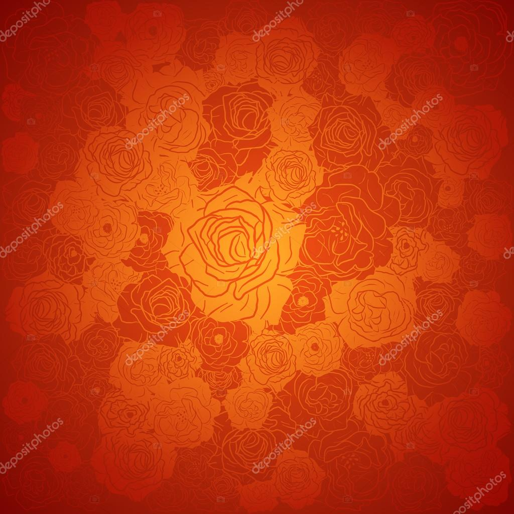 chinese new year background floral design vector illustration stock vector