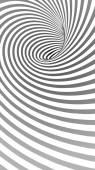 Fotografia Sfondo astratto Tunnel a spirale a righe