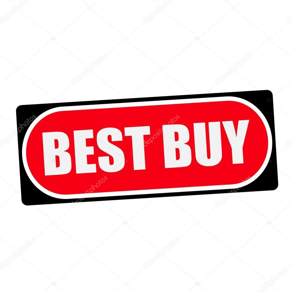 mejor compra texto blanco en el marco de fondo rojo negro — Foto de ...