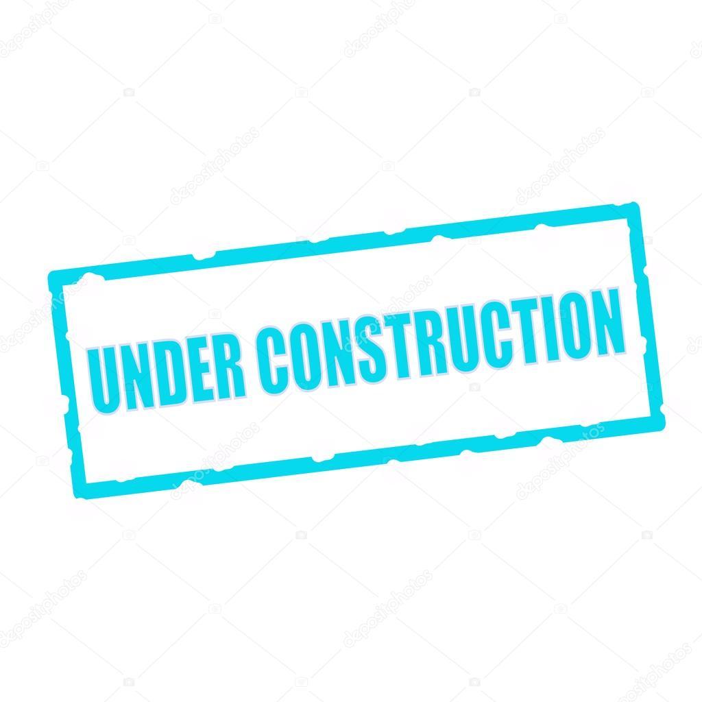 en construcción fraseología en astillas señales rectangulares azules ...