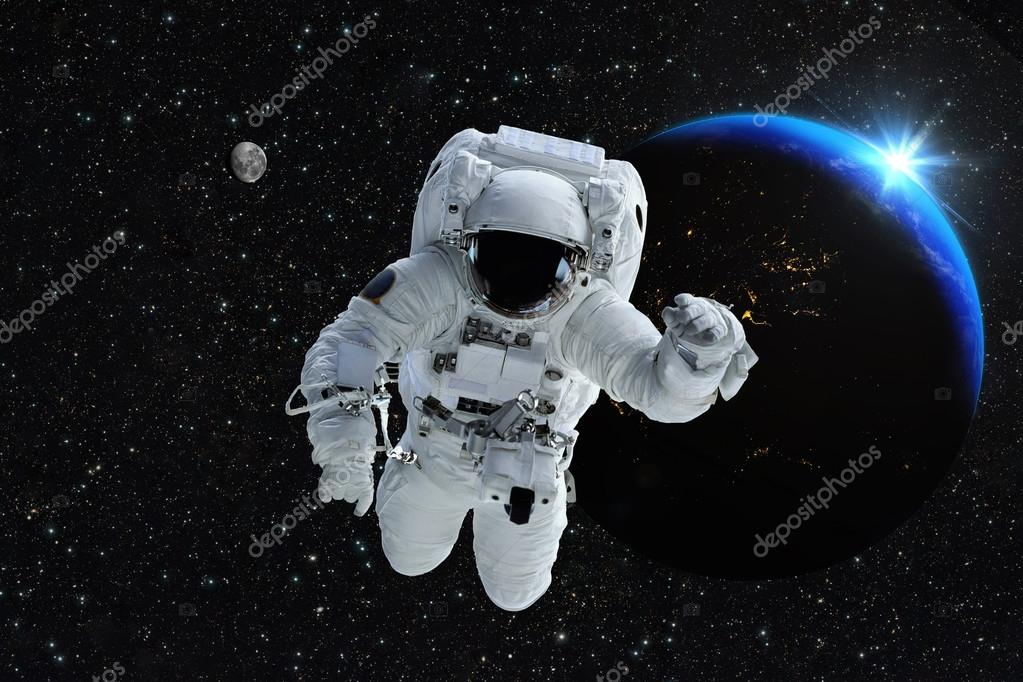 Astronauten twittrar fran rymden