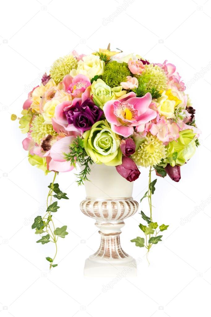 fleur artificielle en plastique d coration vase design vintage photographie iamway 56978203. Black Bedroom Furniture Sets. Home Design Ideas