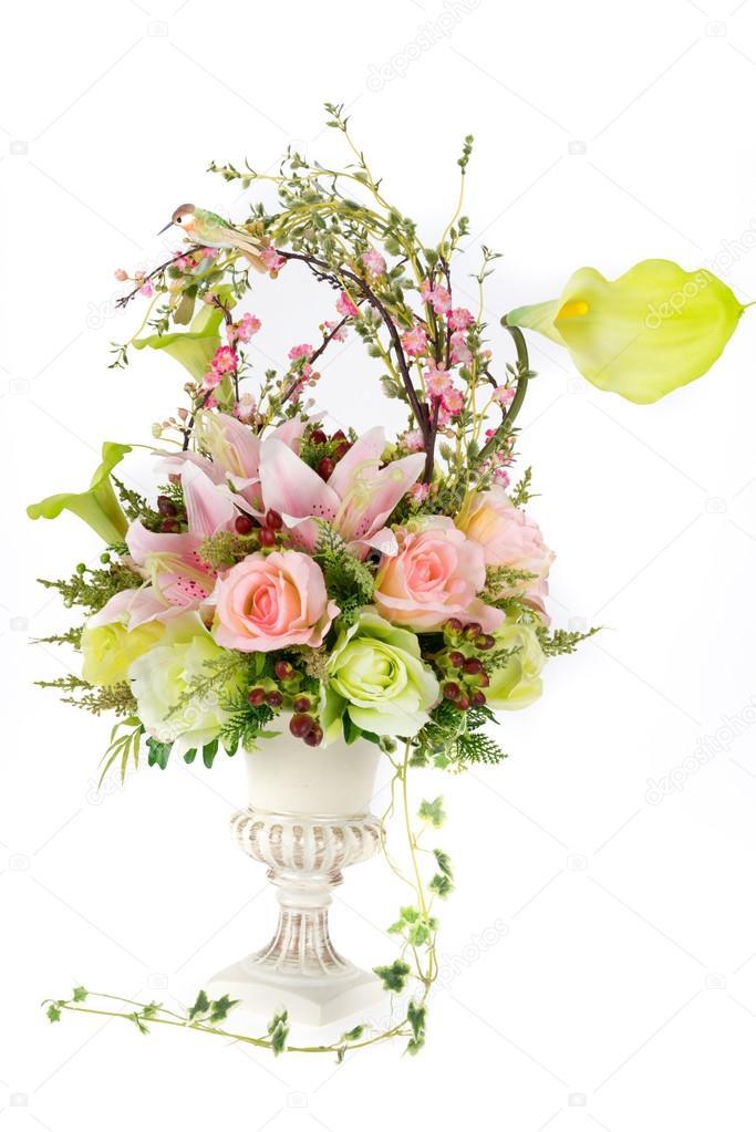 Fleur Artificielle En Plastique Decoration Vase Design Vintage