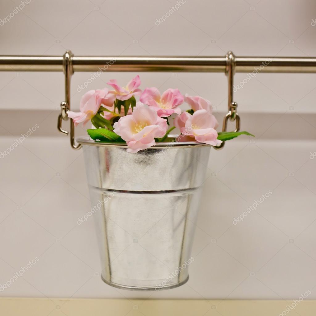 Wiszące Doniczki Do Kwiatów Zdjęcie Stockowe Art9858