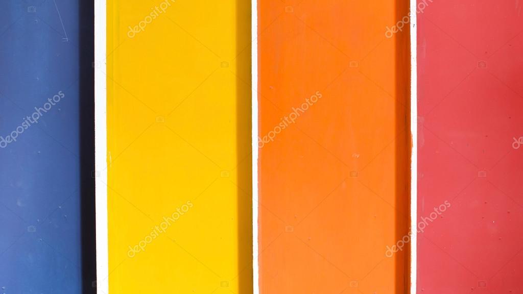 Fondo: Azul Amarillo Y Naranja