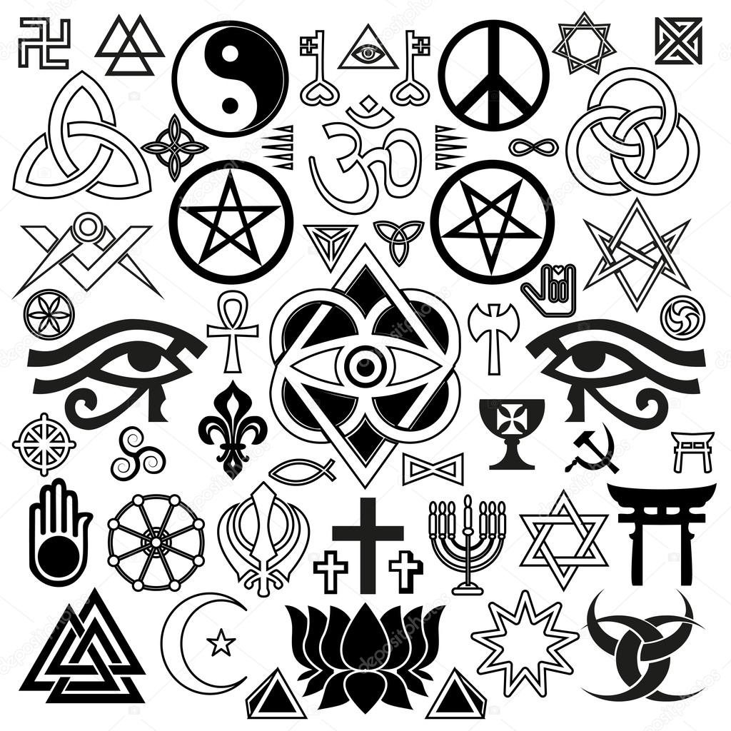religious tattoos and symbols of faith and spirituality