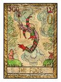mystic fool illustration