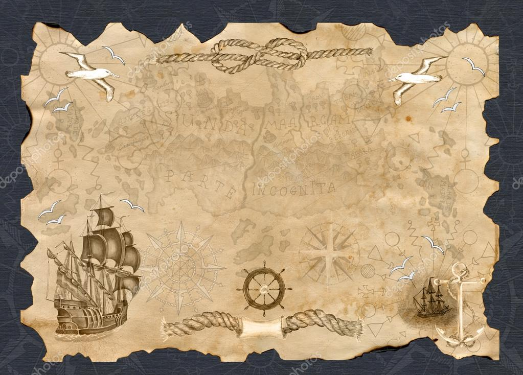 картинки старая карта шаблон садоводу
