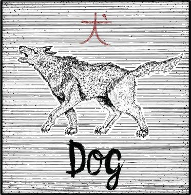 Chinese zodiac symbol of Dog