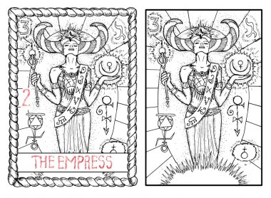 empress major arcana tarot card