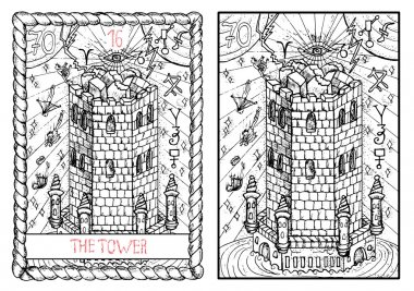 tower major arcana tarot card
