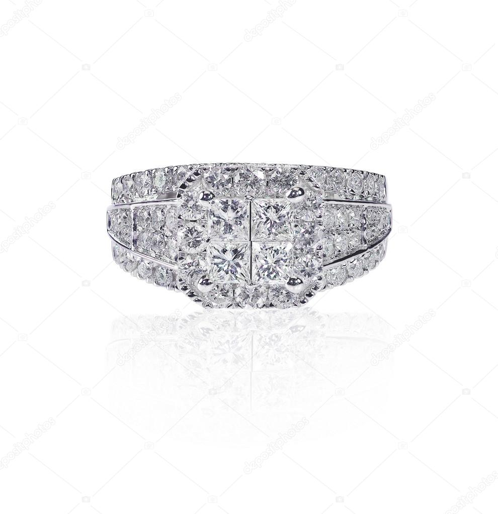 Noces Bague Fiançailles Bande Diamant De Belle dBeroCx