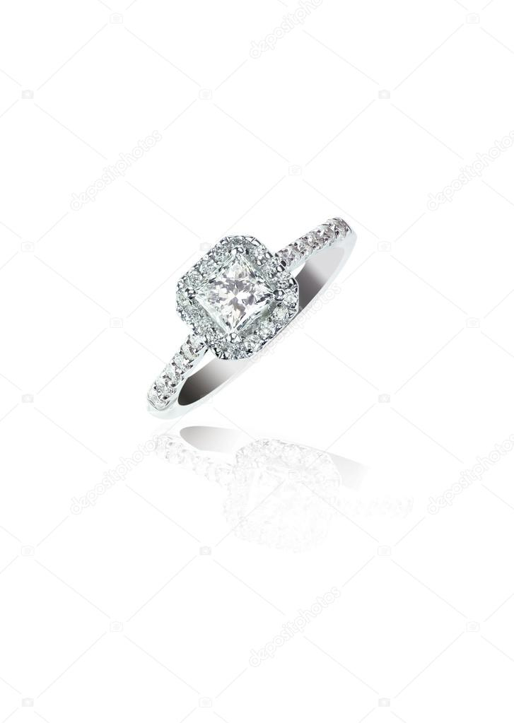 Tienda estilo moderno estilos frescos Anillo de compromiso anillo de bodas de diamante de Corte ...