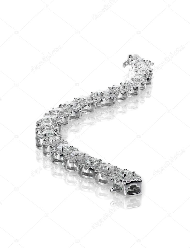 34deedae4c gyémánt tenisz karkötő — Stock Fotó © fruitcocktailcreative #100925866