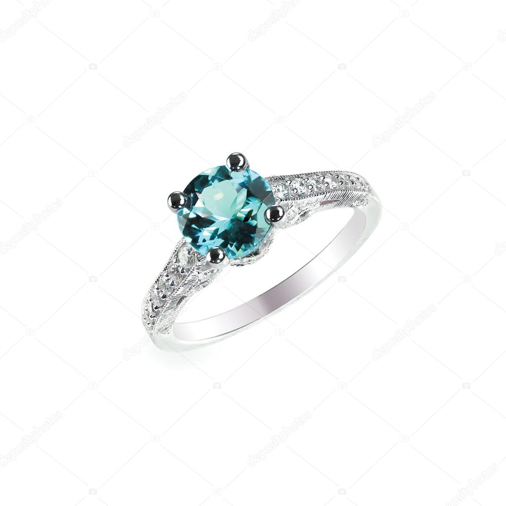 with wedding colored prong diamond ct rings ring band set gemstone round and sapphire cut blue