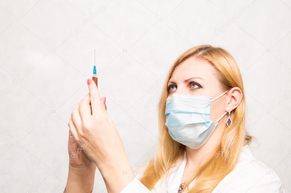 Médico epidemiólogo — Foto de stock © ROBONUKA #57601365