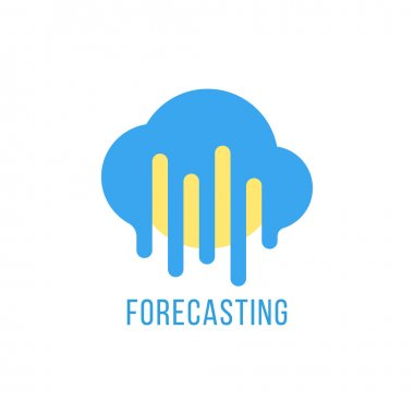 forecasting with sun and melted cloud
