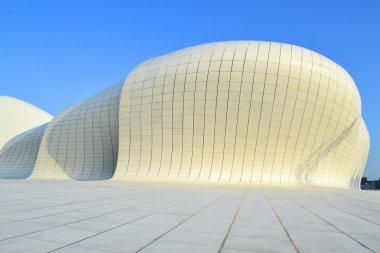 Heydar Aliyev Center, exhibition gallery in Baku