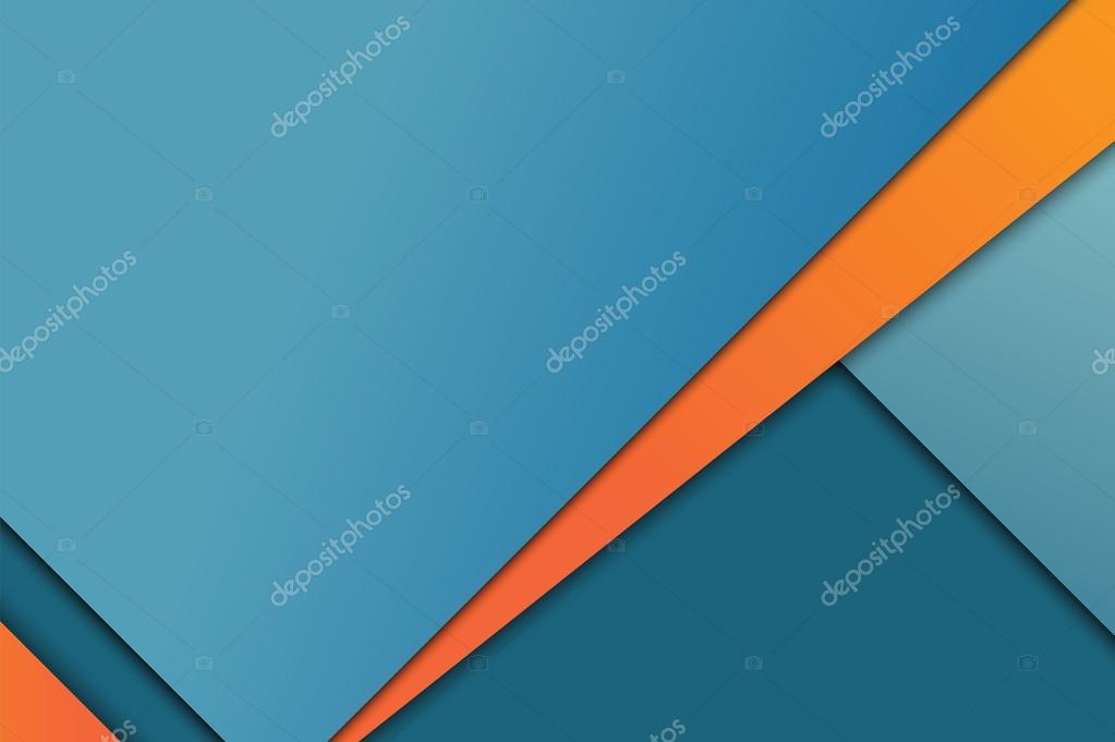 Illustration of unusual modern material design background