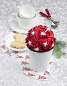 Fotografie Christmas table decoration ideas