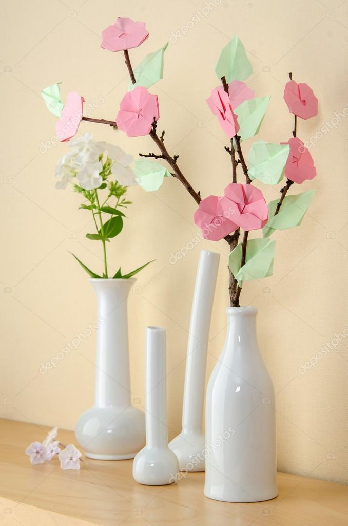 Sakura Origami Vase Stock Photo Mukhin 97555776