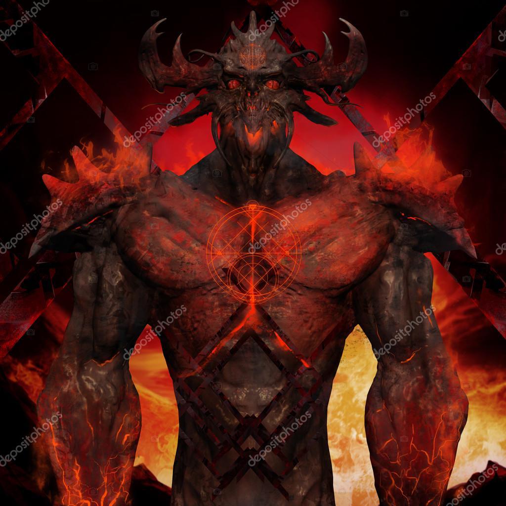 3d illustration of a devil torso art stock photo breakermaximus 3d illustration of a devil torso art voltagebd Images