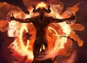 Plamen démon