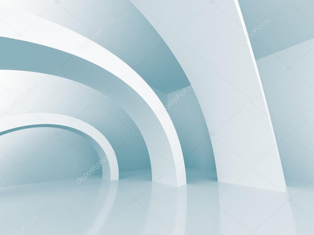 Architektur Design Futuristische 3d Hintergrund U2014 Stockfoto