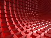 Červená kostka bloky stěna pozadí